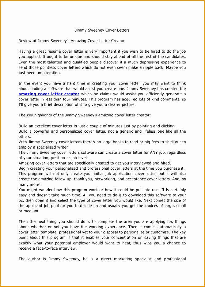 jimmy sweeney cover letters937669