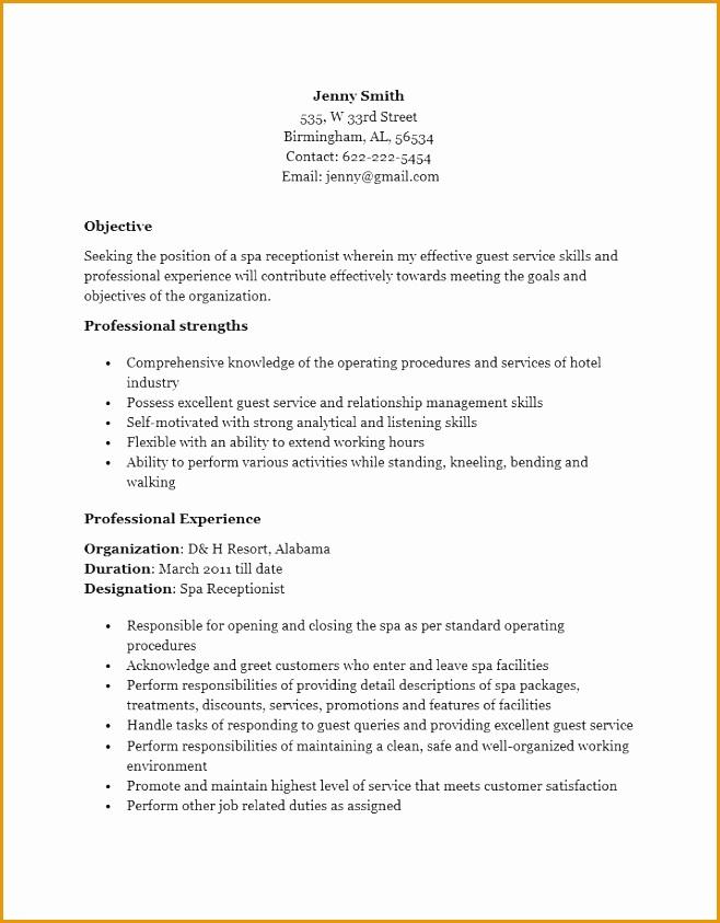 receptionist resume help843658