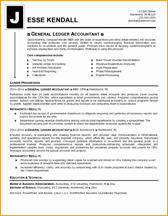 top accounting resume templates750586