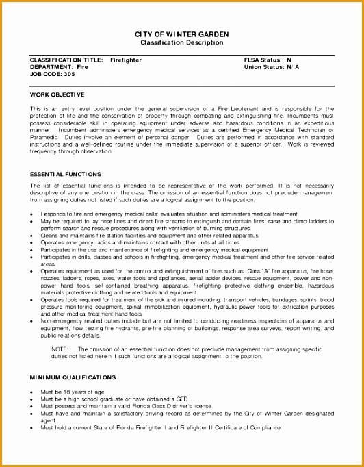 fire marshal objective for resume682532