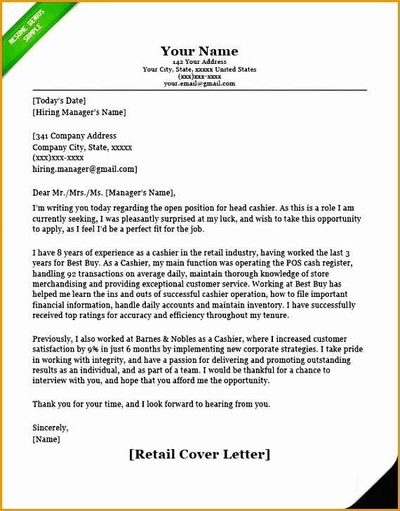 Standard Cover Letter728570