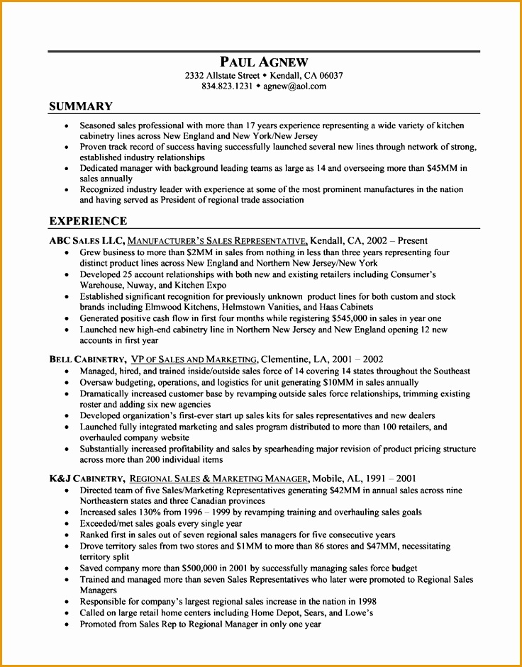 how to write a career summary on your resume941736