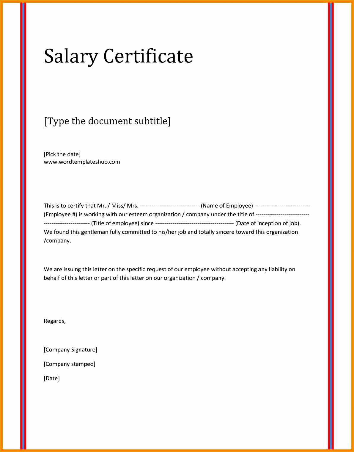 7 salary proof letter15191191