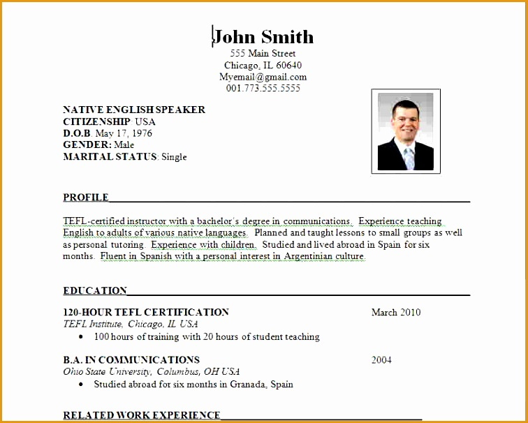format for resumes606756