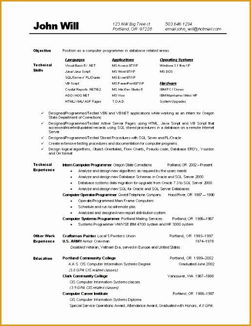 listing puter skills on resumes670515