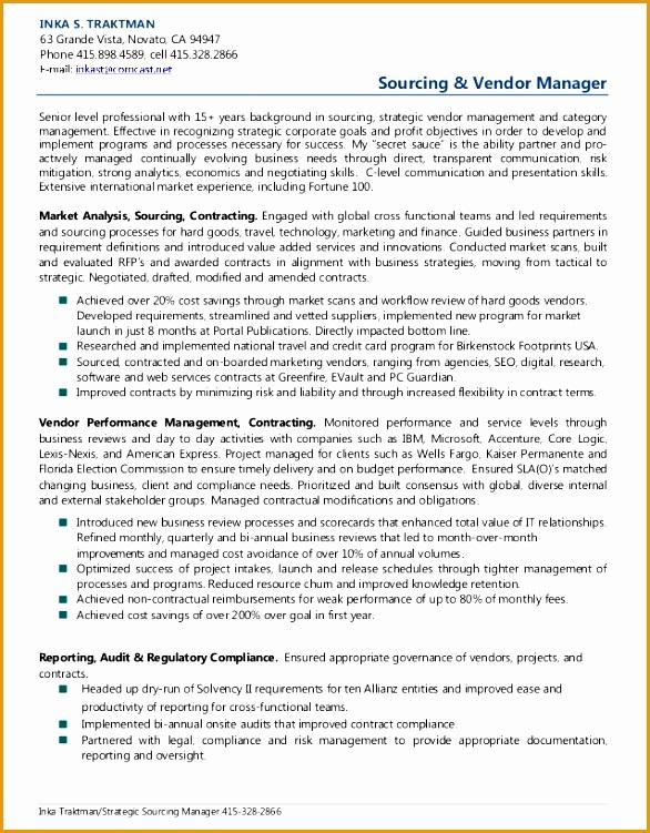 inka traktman sourcing vendor management resume751586