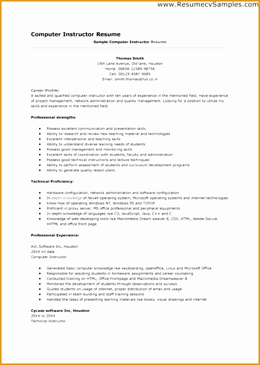 7 math teacher resume sample