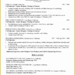 4 Mechanical Technician Resume Sample