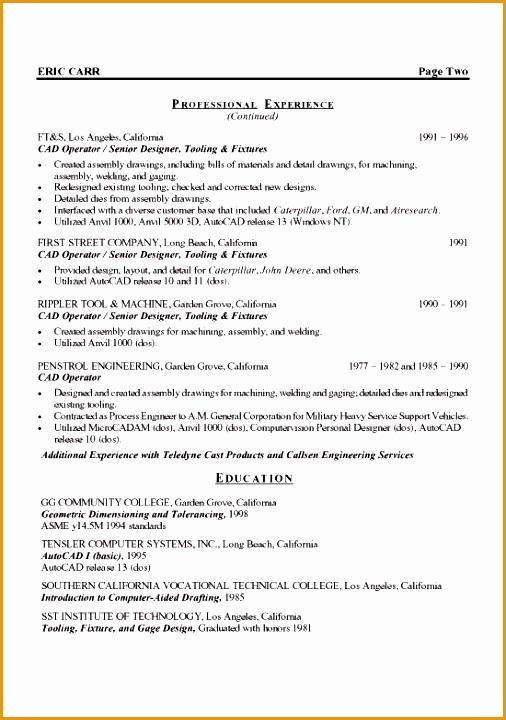 mechanical engineer resume example720506