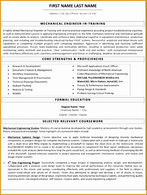 best mechanical engineer resume templates samples642483