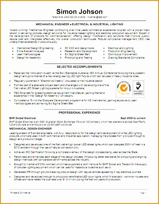 4 mechanical technician resume sample   curruculum