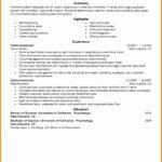 8 Media Production Resume Sample