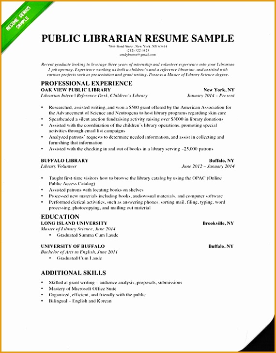 librarian resume example728570