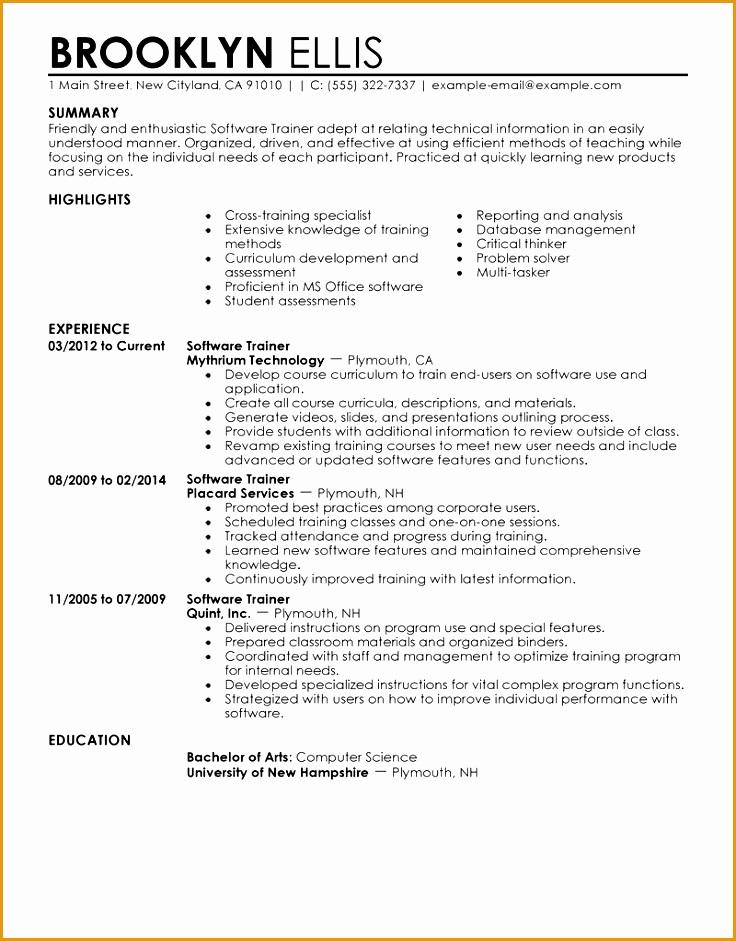 perfect resume example941736
