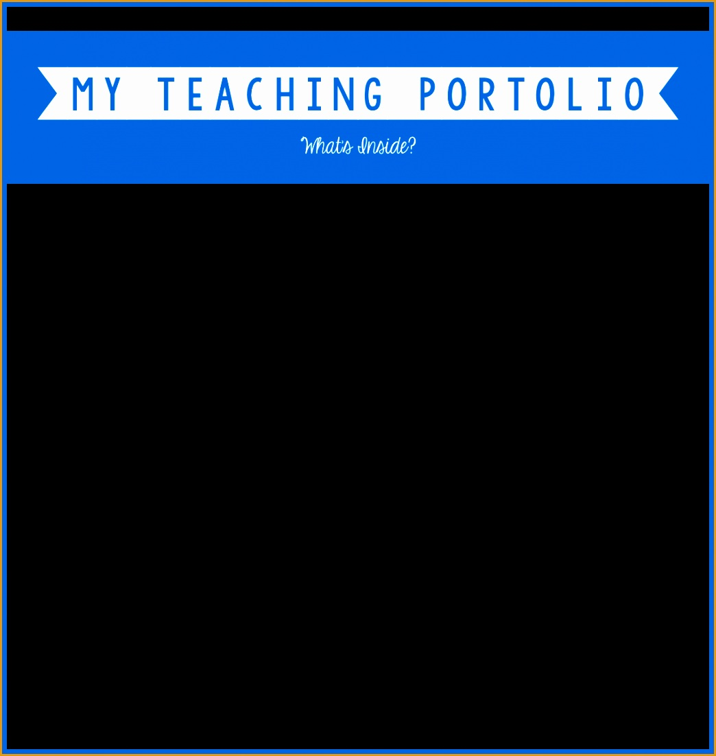 my teaching portfolio11021044