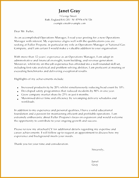 operations production cover letter example 6 production manager cover letter free samples 23876