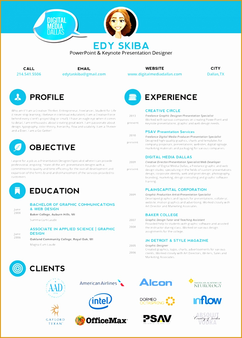 creative graphic design resume template sample psd format1158828