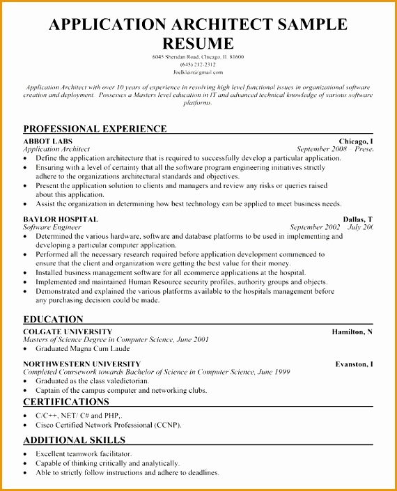resume samples across all industries705570