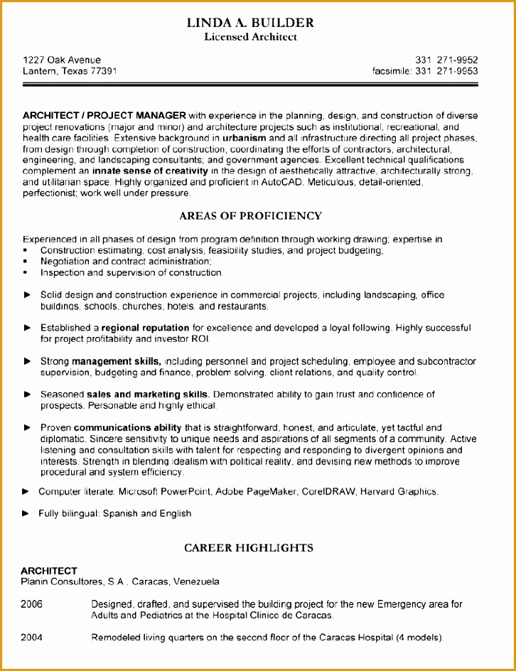 architect resume944726