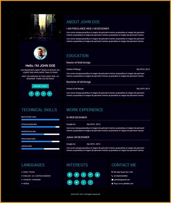 best creative resume templates656552