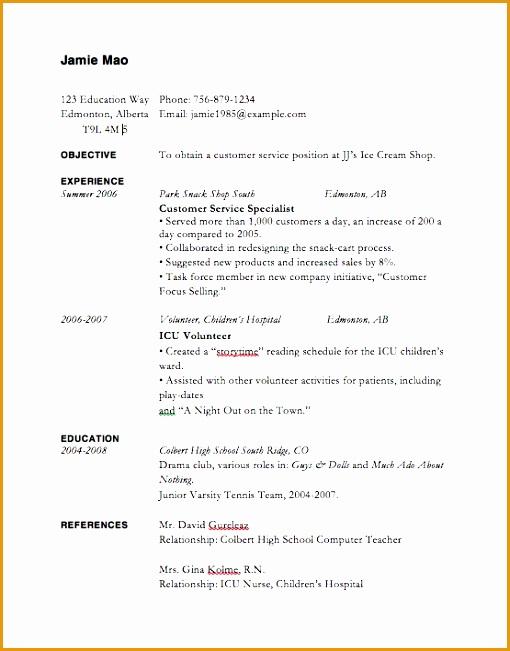 5 professional resume sample free