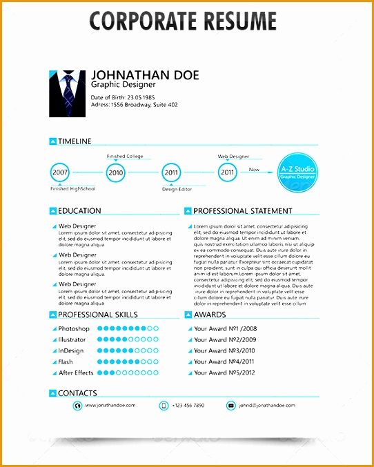 50 professional resume styles and ideas677542