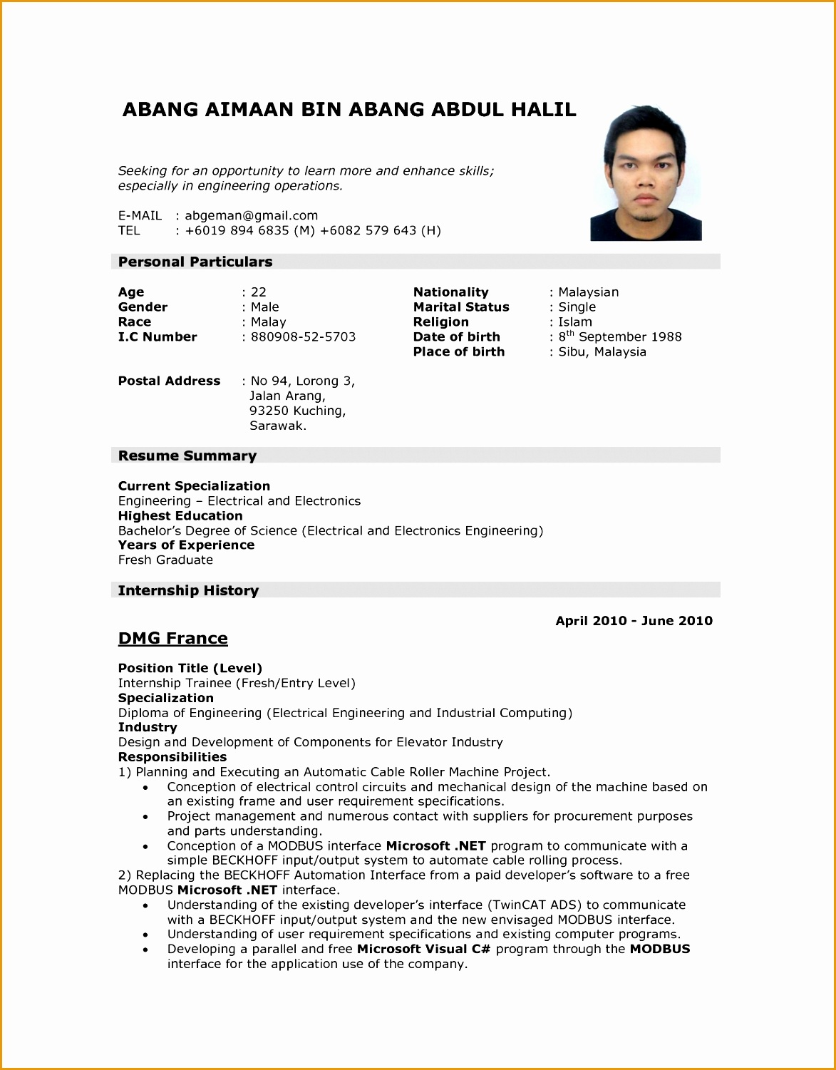 brilliant along with interesting sample resume applying for a job for inviting15011173