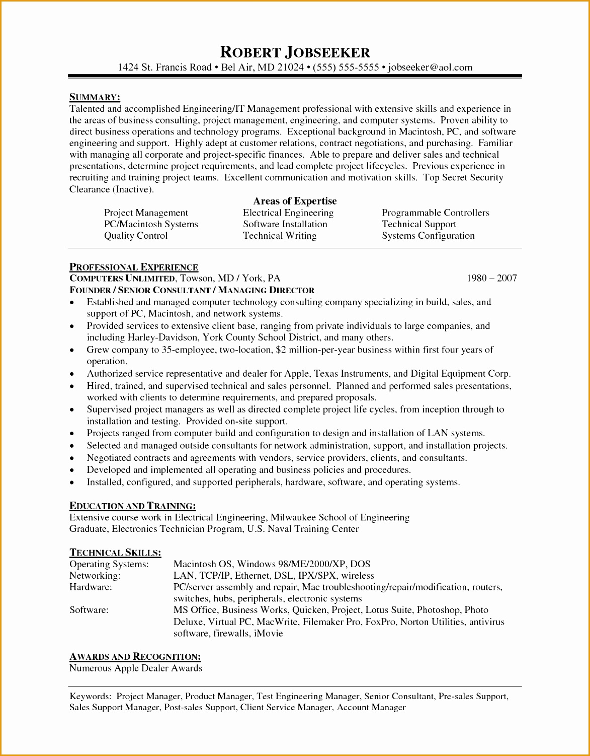 7 Recruitment Consultant Resume