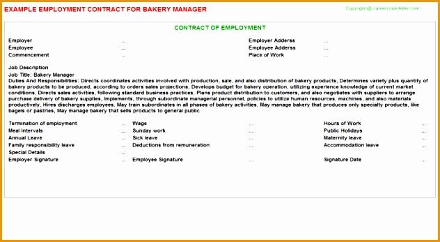 Bakery Manager JOB347632