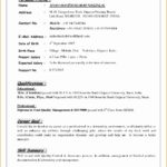 6 Resume for High School Student with No Work Experience