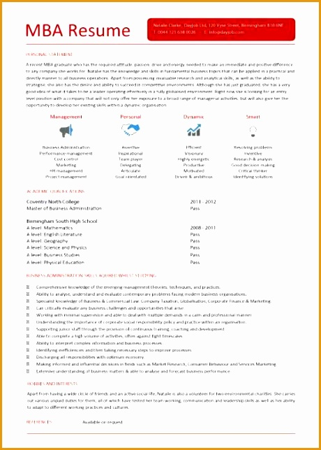 management cv template 271644460
