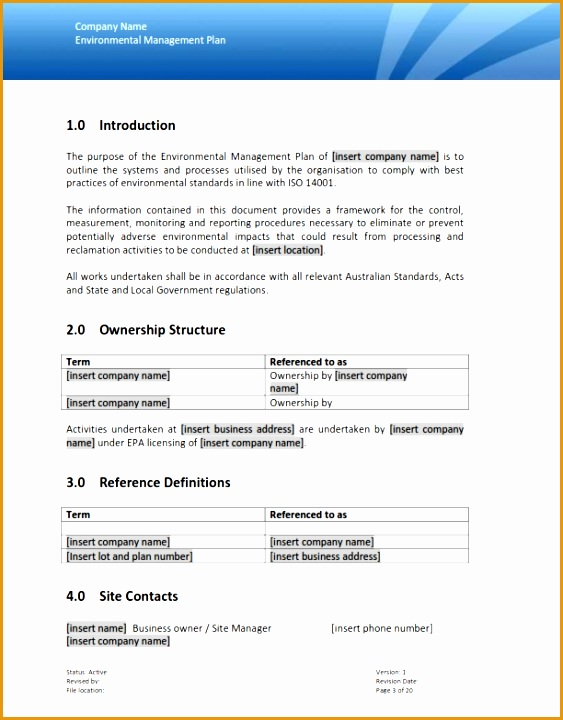 environmental plan720563