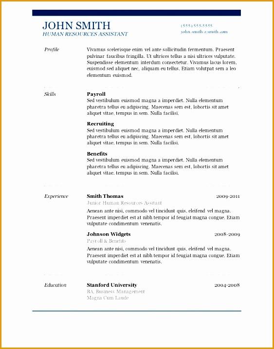 7 free resume templates718563