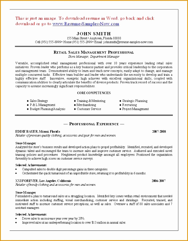 7 Retail Pharmacist Resume Sample Free Samples