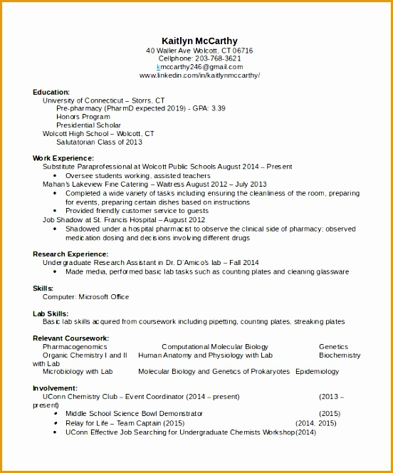 pharmacist resume664552