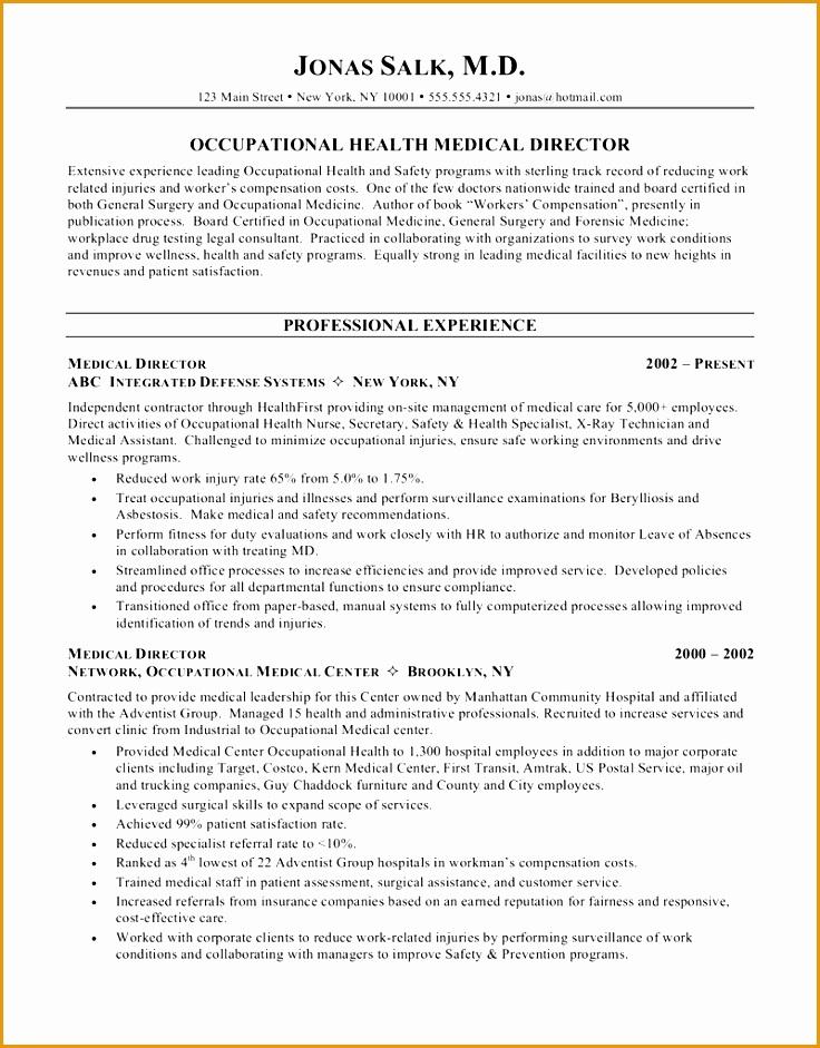 medical doctor curriculum vitae example941736