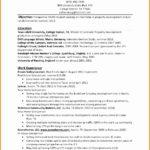 6 Sample Resume for Psychology Graduate