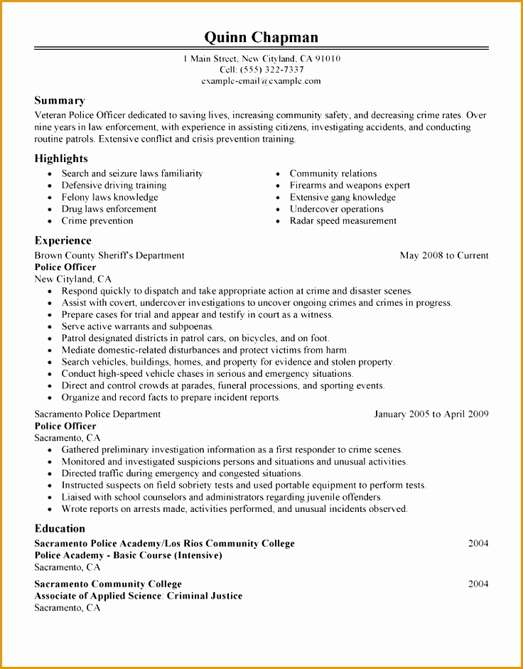 5 security officer resume objective