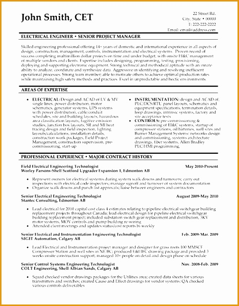 best electrical engineer resume templates samples617483