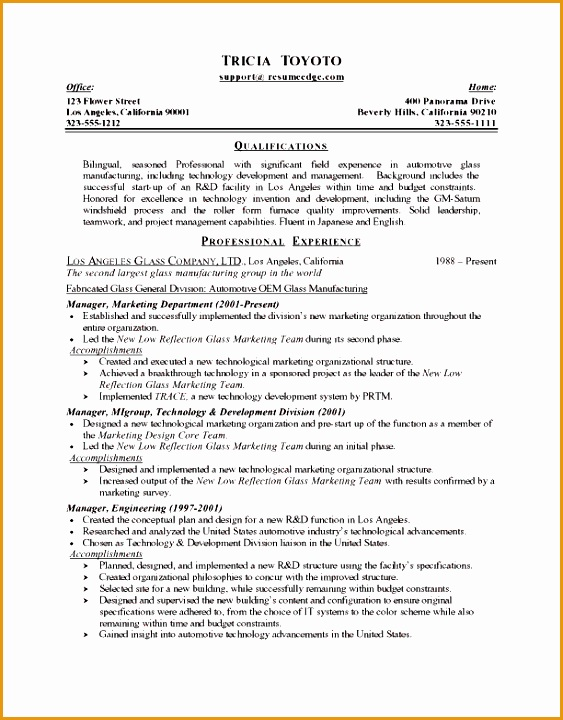 manufacturing manager resume720563