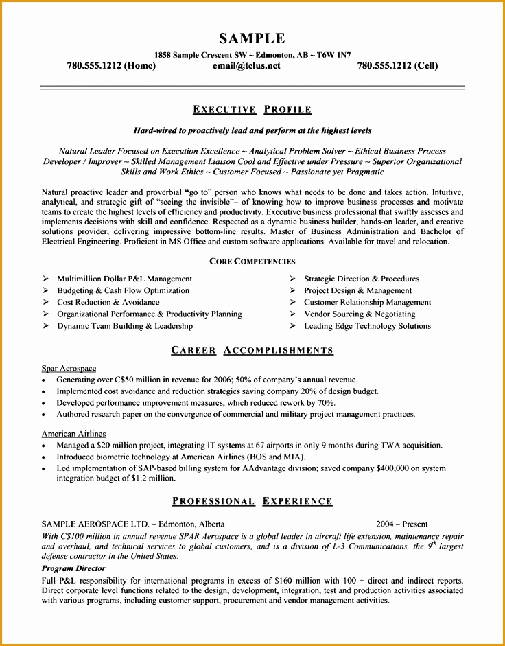 Sample Resume For Fresher Customer Care Executive