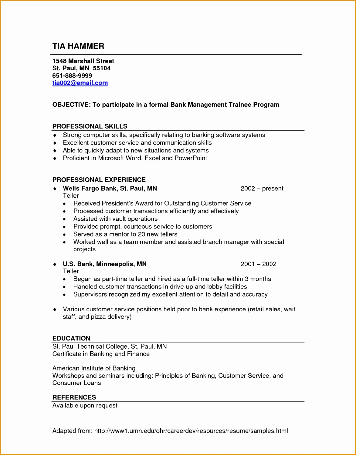 bank teller resume philippines skills based writing 677415011173
