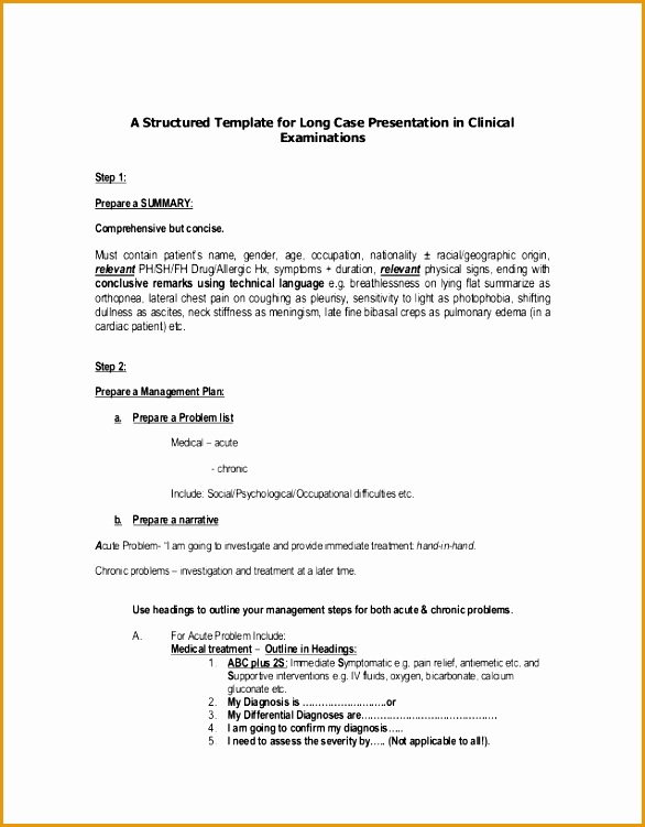long case presentation in clinical exams751586
