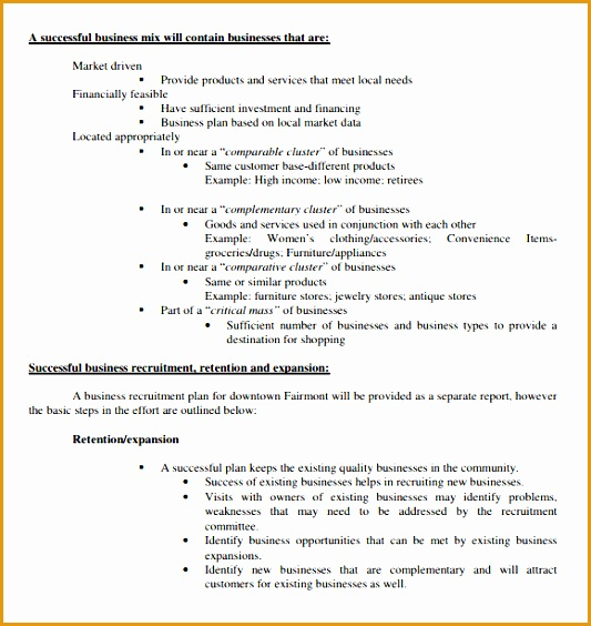 real estate business plan template564533