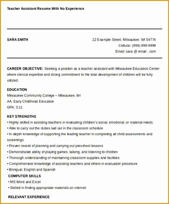 free teacher resume664552