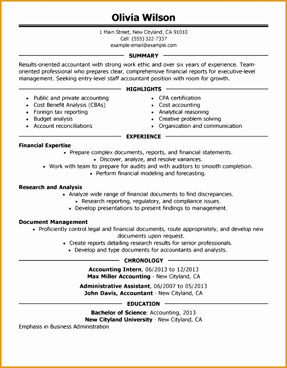 staff accountant resume sample728568
