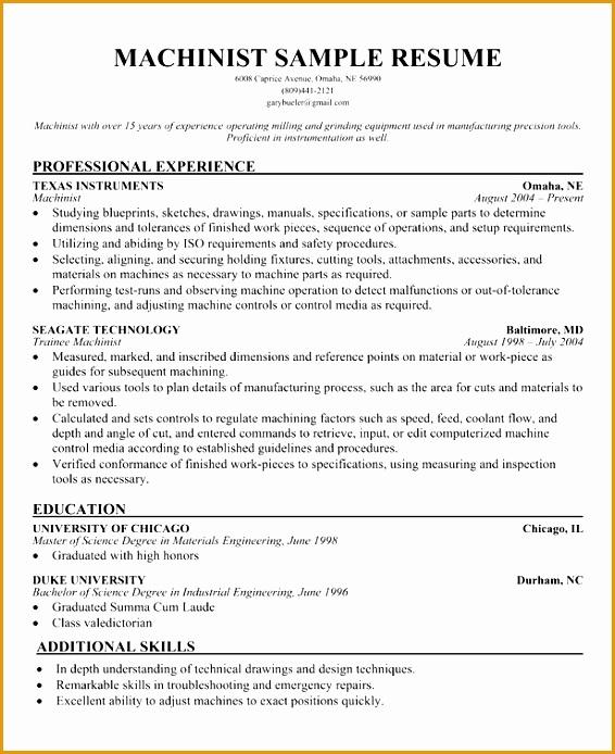 cnc machinist resume models694566