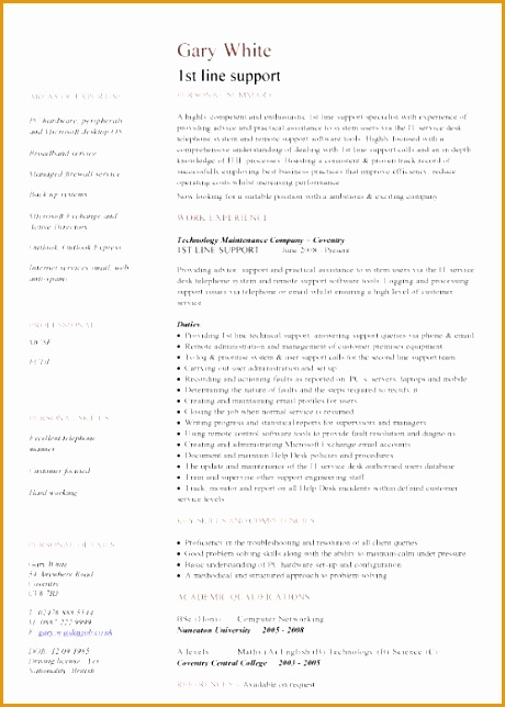 8 technical architect resume example