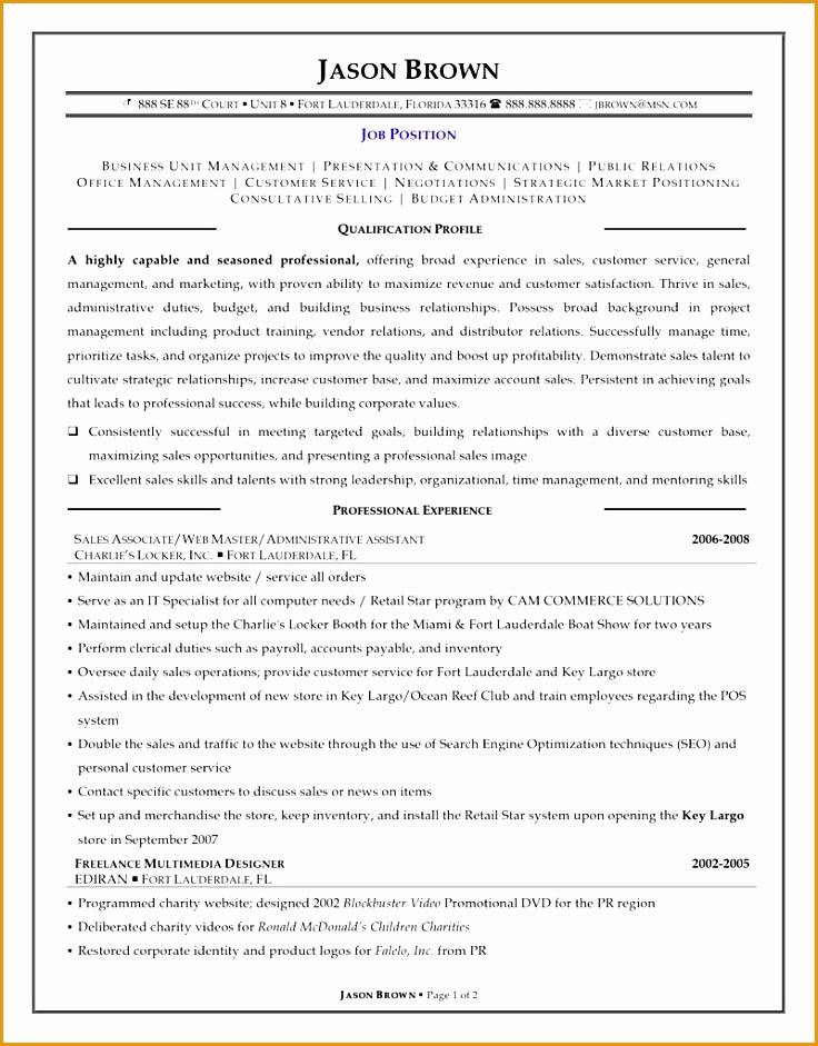 sample sales representative resume941736