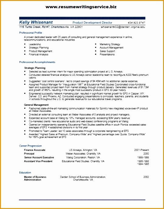 product development director resume sample690540